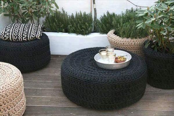 , Recycled Reifen- super Idee!
