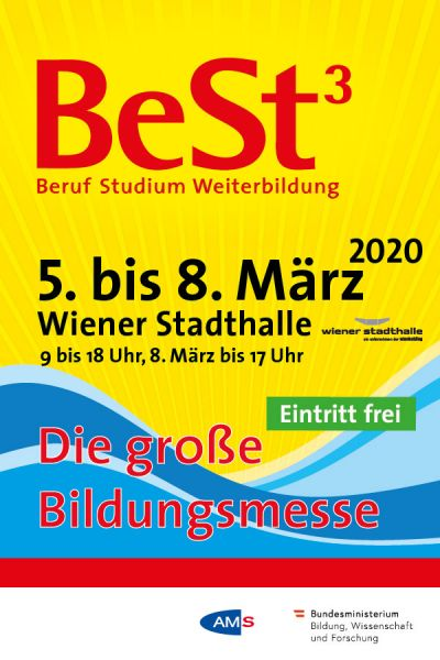 """BeSt³ Messe- Vortrag: """"Handwerk als Berufung"""" @ Wiener Stadthalle"""