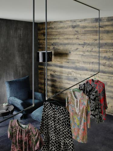 Wandverkleidung LANDEGGER - Kollektion Waldwand